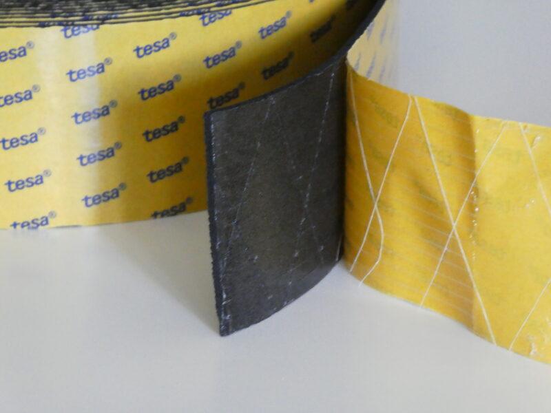 EPDM habosított fektető gumi ÚJ! 10m/tekercs - bruttó 8106 Ft+Áfa/tekercs.